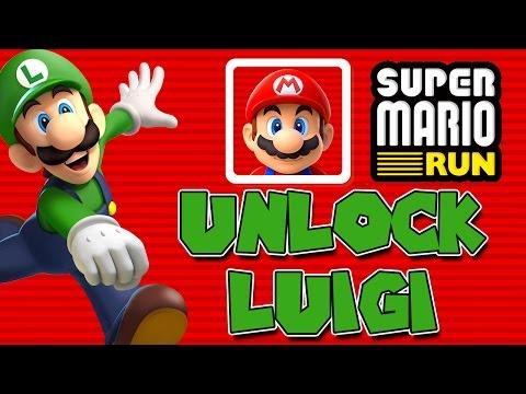 UNLOCK LUIGI!   Super Mario Run   The Quest for LUIGI   HOW TO UNLOCK LUIGI