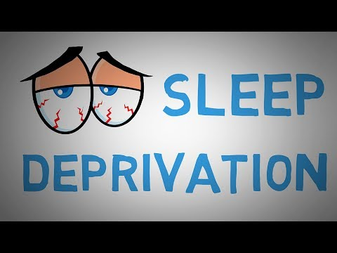 What Happens When We Don't Get Enough Sleep - Scary Effects of Sleep Deprivation (animated)
