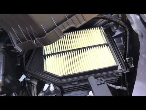 2013-2017 Honda Accord Engine Air Filter Replacement DIY