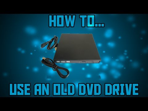 How to make use of an old laptop DVD drive