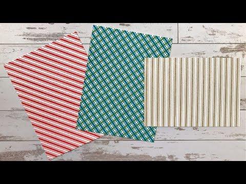 Diagonal Stripes Stamping