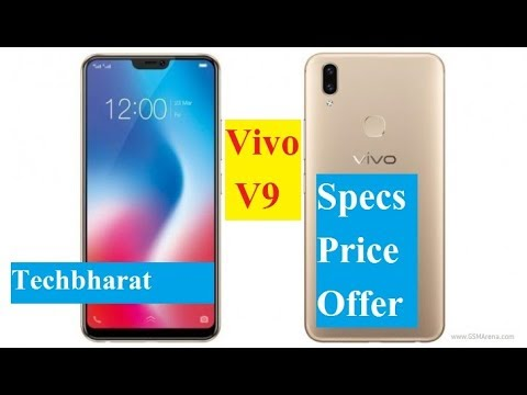 Vivo V9 with 24 MP Front Selfie Camera and an iPhone X-like Design (Hindi)