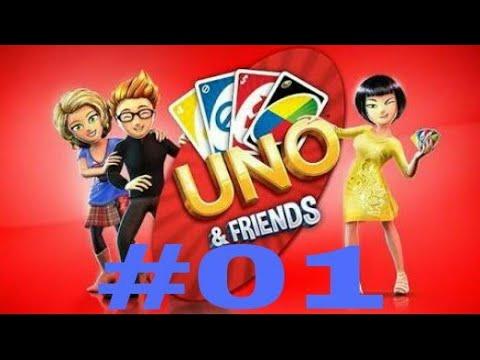 Primeiro video do canal!!!-Uno & Friends-