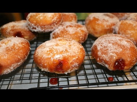 How To Make Jelly Doughnuts - Donuts - in the Kitchen With Jonny Episode 16
