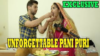 Meera Deosthale AKA Chakor Pani Puri Segment With Vivaan AKA Paras Arora | Telly Reporter
