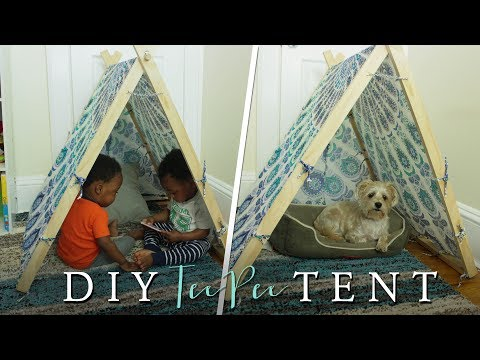 How to Make a TeePee Tent