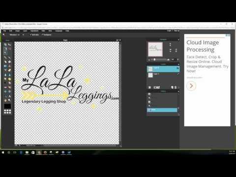 Making a Transparent Logo & more