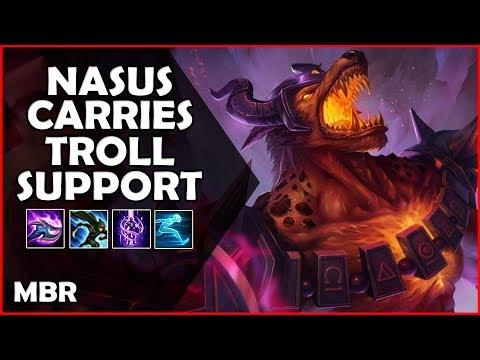 Nasus Carrying The Trolls/Feeders (S) | Infernal Nasus Vs Kayn | RTD #12