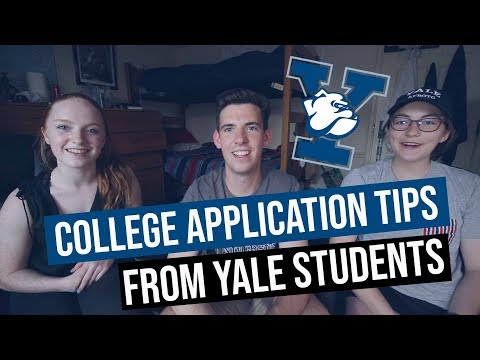 How to Create a Successful College Application // yale student interview