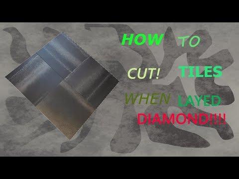 45 DEGREE ANGLE  CUTTING TILES AMTICO (DIAMOND)
