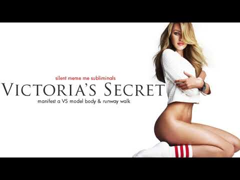 ULTIMATE VS MODEL: Get The Supreme Victoria's Secret Model Body - Silent Subliminal Affirmations