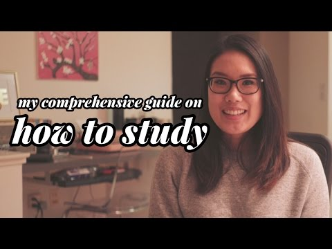 My Comprehensive Guide on How To Study | Study Tips from a Med School Student