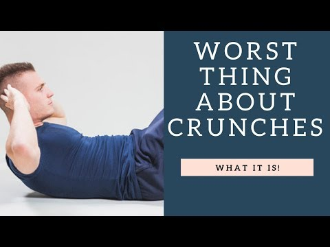 WORST Thing About Ab Crunches   How To Make The Abdominal Crunch Exercise Better!
