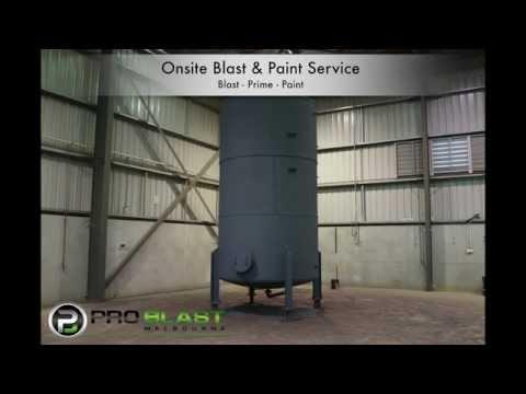 Pro Blast Melbourne Tanks