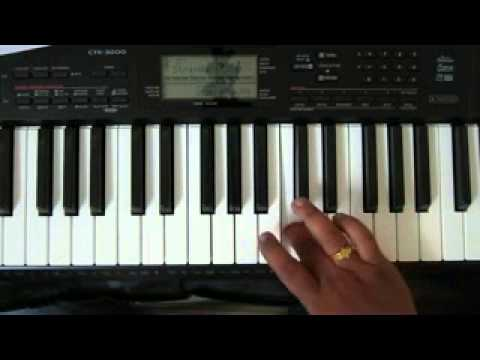 keyboard basic lessons in telugu   sruthi [scale] by p.narendra kumar