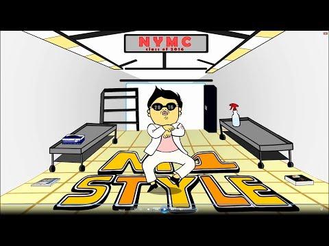 Med School Style [Gangnam Style Med Parody] - NYMC Class of 2016 (HD)