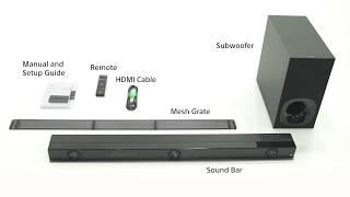 Unboxing and Setup Guide   Sony Z9F Soundbar