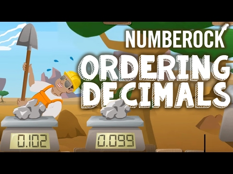 Ordering Decimals Song by NUMBEROCK
