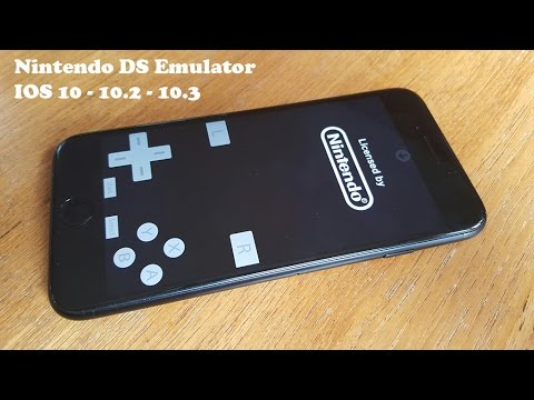 New Install Nintendo DS Emulator IOS 10/10.2/10.3 FREE NO Jailbreak-Iphone 7/7Plus/6/6Plus/6s/6sPlus