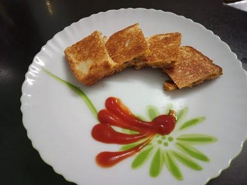 Home made Potato Sandwich | 2-Minutes Breakfast