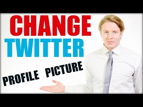 How To Change Twitter Profile Picture 2016