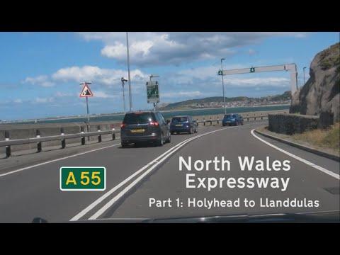 [GB] A55 North Wales Expressway, Part 1: Holyhead to Llanddulas