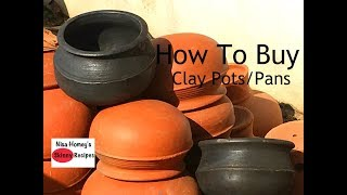 Download How To Buy And Season Clay Pots - Clay Pans - Mud Vessels - Manchatti - Skinny Recipes Video