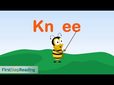 Beginning Readers Grammar Phonics Lesson, Silent Blends