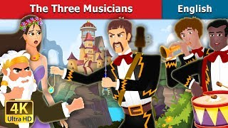 The Three Musicians and Magical Castle Story in English | English Fairy Tales