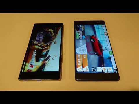 Sony Xperia XA Ultra vs Z5 Premium Speed Test and Specs