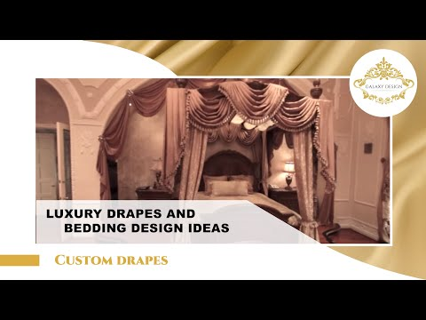 Video #10: Custom Made Drapes | Swarovski Elements | Jabots | Drapery Los Angeles | Galaxy Design