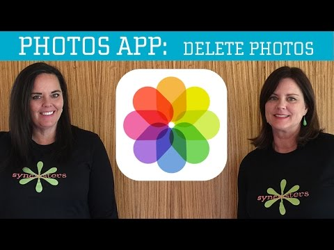 iPhone / iPad Photos App - Delete Photos