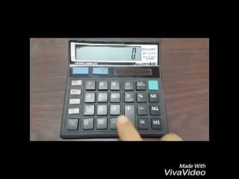 Finding antilog using simple calculator.