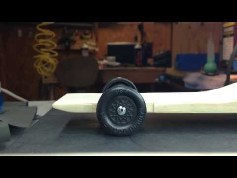Pinewood derby car tuning - How to tune 4 wheel riding car by Derby Dust