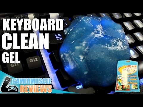 The best way to clean a keyboard ? - Super clean keyboard gel