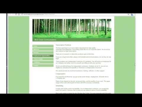 One Job Minute: Remote Transcription with Birch Creek
