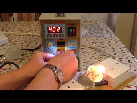 Testing SUNKO S788H Battery Spot Welder In A House Part 4