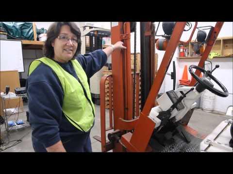 Forklift Training: OSHA Pre-Shift Inspection