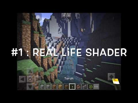 5 beautiful shaders for minecraft pe
