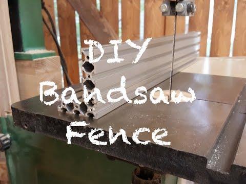 DIY Bandsaw Fence