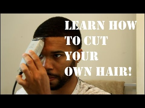 How to Cut Your Own Hair!
