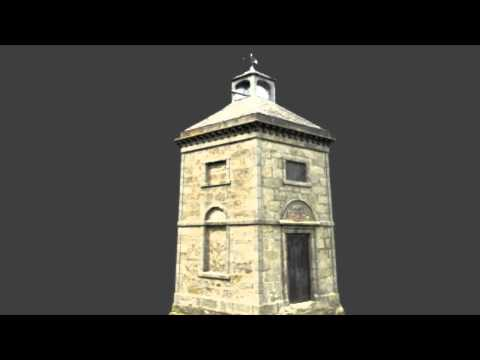 Photogrammetry 3D Model of the Dougalston Estate Doocot