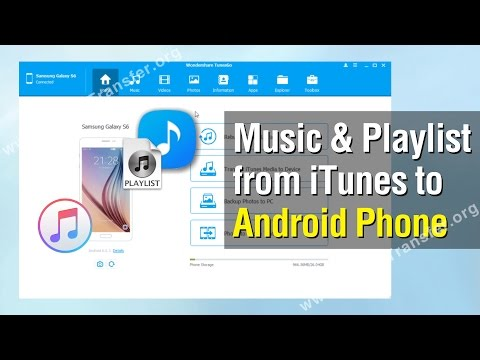 How to Transfer Music & Playlist from iTunes to Android,  Sync iTunes with Android Phone