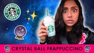 TRYING THE STARBUCKS CRYSTAL BALL FRAPPUCCINO 🔮✨