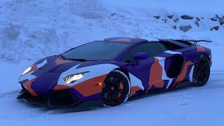 NEW WRAP for my Lamborghini Aventador!