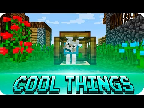 Minecraft - 8 Cool Things to Make in Minecraft / MCPE (Details / Furniture)