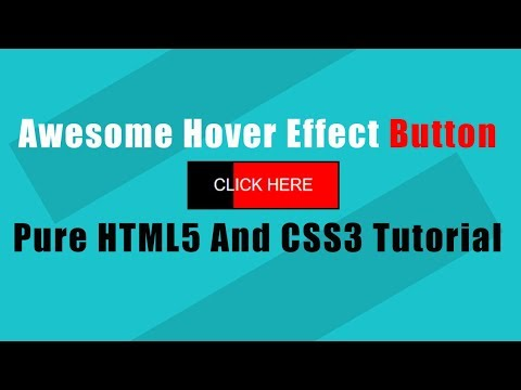 Super simple button hover effect with CSS/HTML