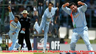 Sachin Tendulkar Best Mystery Spin Bowling in Cricket History Ever