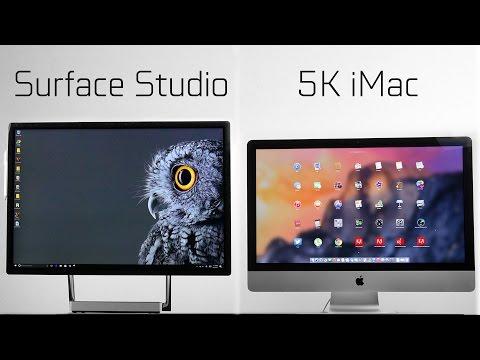 Microsoft Surface Studio vs 5k iMac