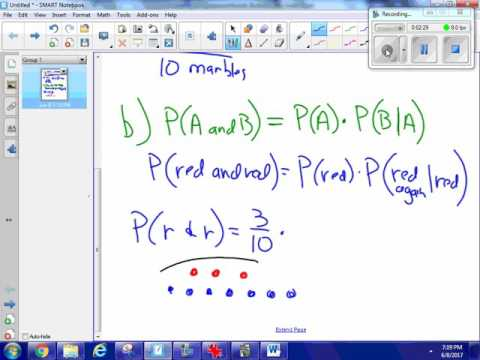 Probability of Compound Events I   1 Problem